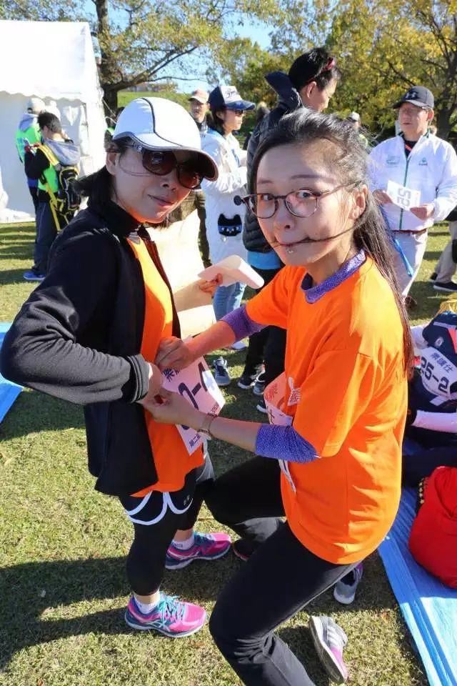 记第二届华侨华人马拉松接力赛--武大校友会队